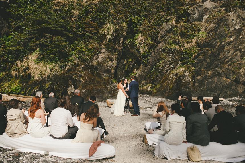 Vancouver Island Beach Wedding