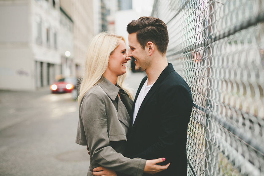 Vancouver Gastown Engagement