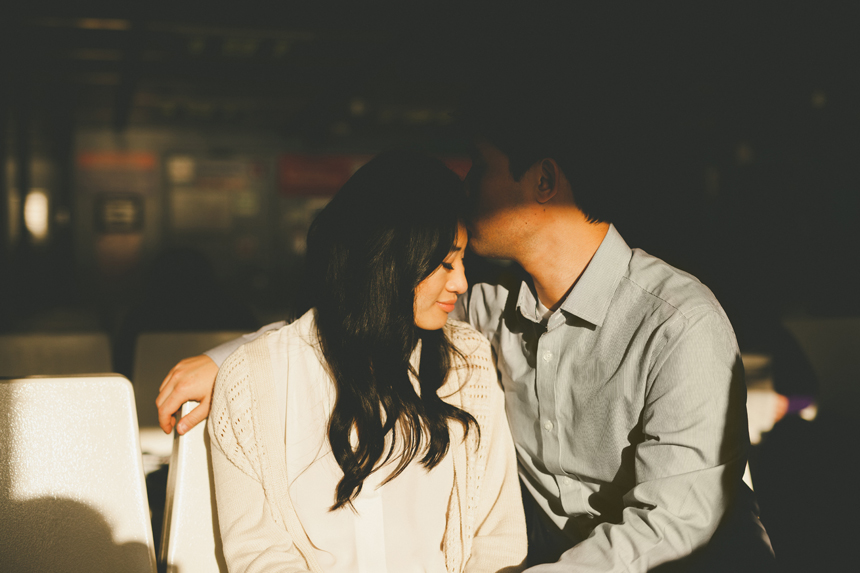 Vancouver Seabus Engagement Photography