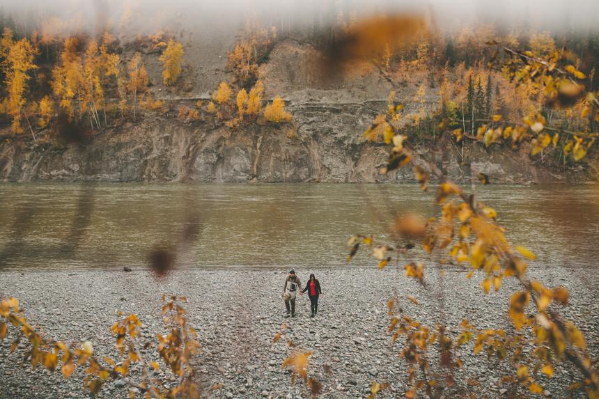 Northern BC Engagement Photos