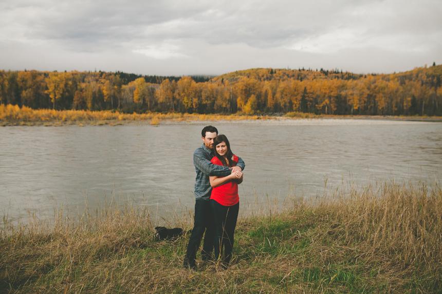 Northern BC Engagement Photos // Shari + Mike
