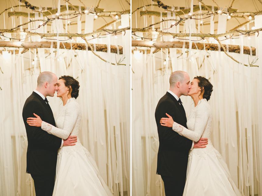 Calgary Rustic Wedding Ceremony