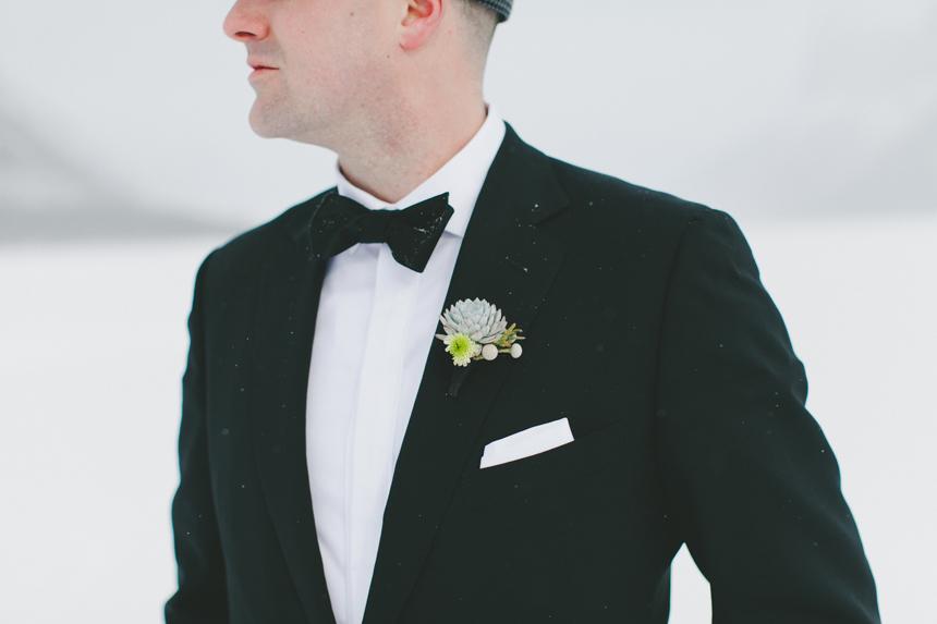 Alberta Winter Wedding
