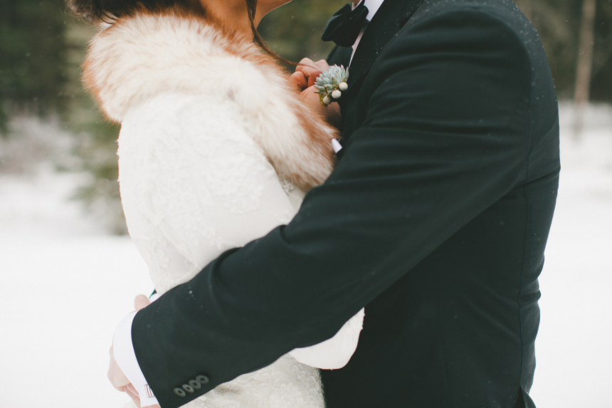 Alberta Winter Wedding Photography