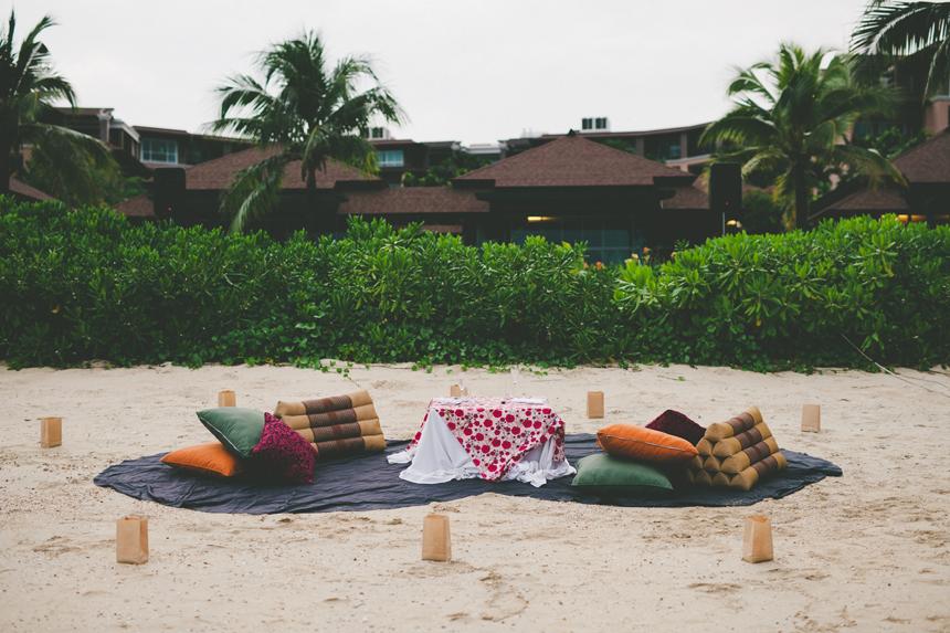 Phuket Beach Reception