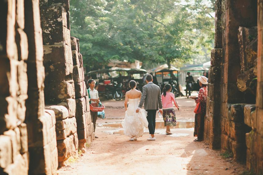 Angkor Wat Wedding Photos