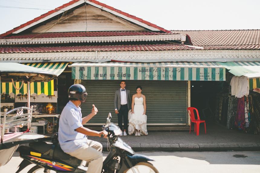 Cambodia Destination Wedding Photographers // Shari + Mike