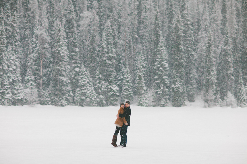 BC Winter Engagement Photography