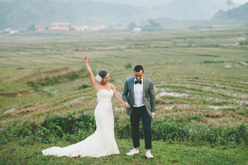 Sapa Vietnam Destination Wedding