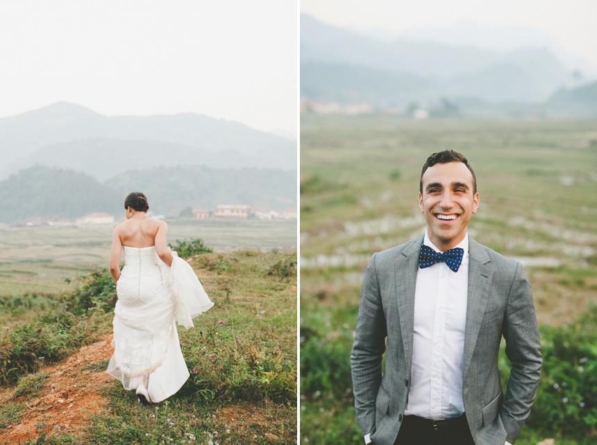 Northern Vietnam Destination Wedding Photos