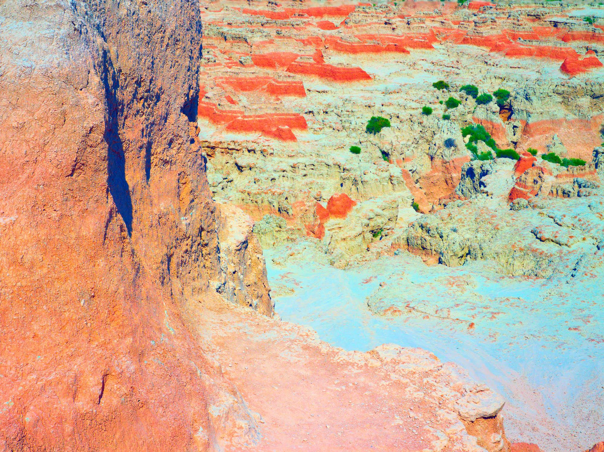 Marten Elder - pr 47 (badlands cliff) - 30x40.jpg