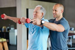 Monitor Your Rehab Exercises - Our physiotherapists deliver a tailored exercise program under the guidance of your surgeon following joint replacement. We provide our patients with all required equipment and access to our online exercise programs to help guide you between visits.