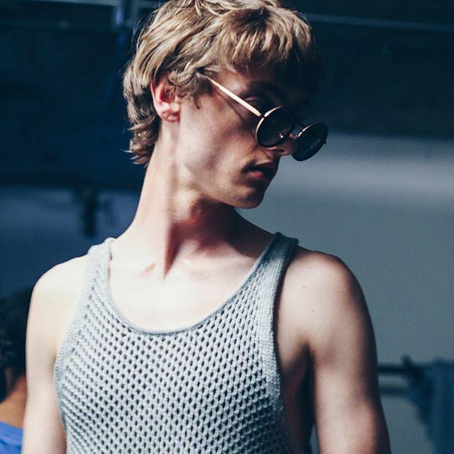 #BODYBOUND #SS18 | #styling @wayperry_edit | #casting @nataliemonroe | #MUA @adamdecruz @cosmetics27 | #Hair @philipp_haug @toniandguyworld @labelmuk | #photography @clairebrandphoto | #sunglasses @lindafarrow @tracasion | #model @_calumpaterson_  @models1