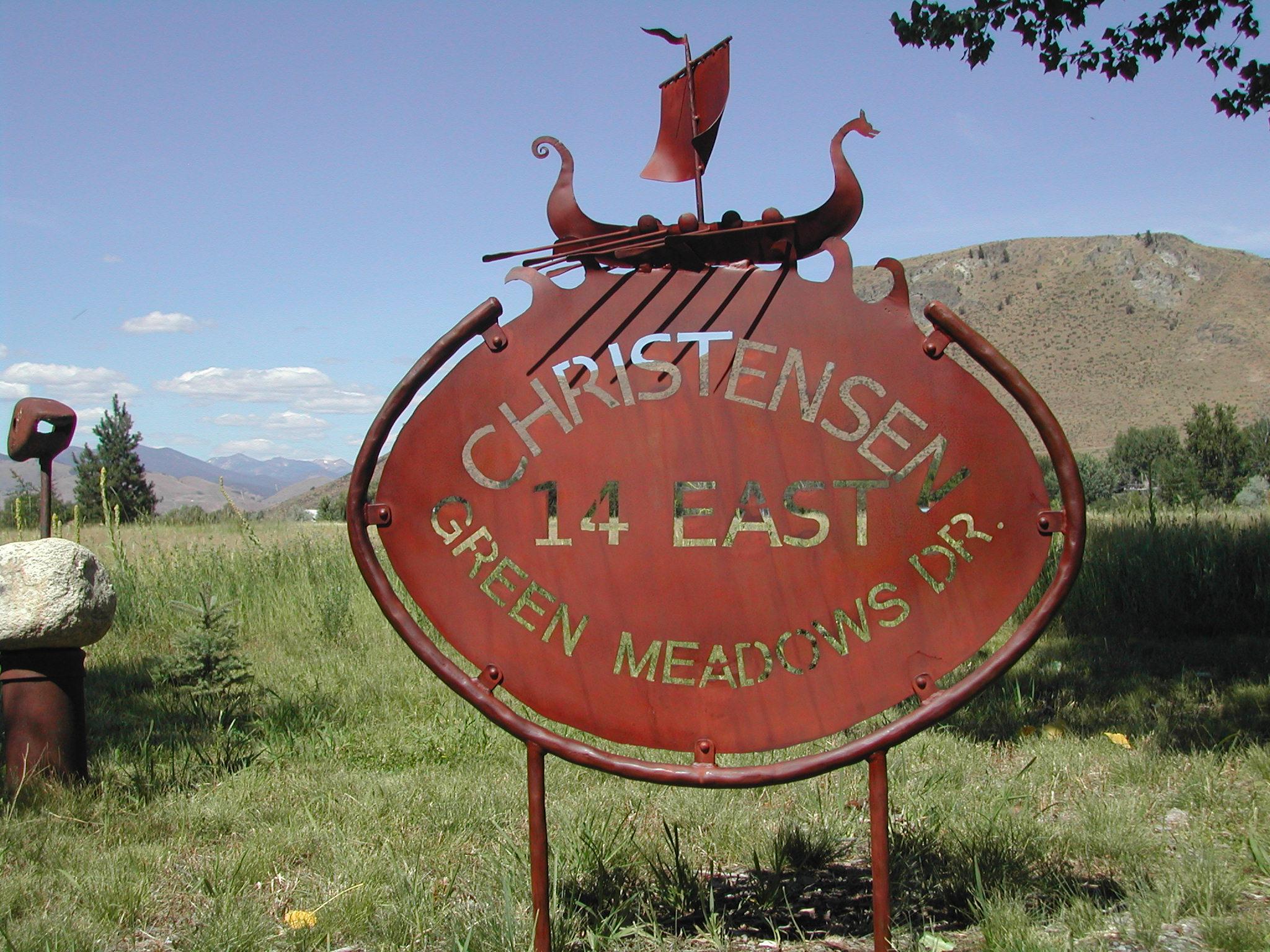 Christensen Sign.JPG