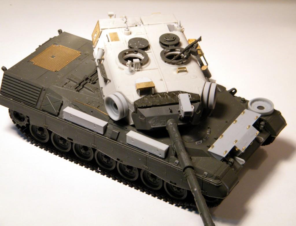 35125, Leopard 1 A5DK-1 Conversion (Italeri or Meng)