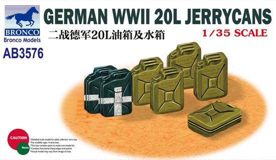 BOM03576,   German WWII 20L Jerrycans