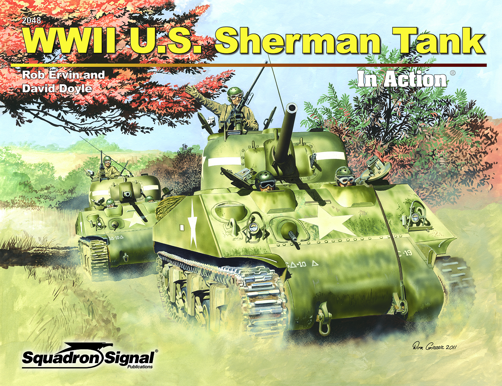 WWII US Sherman Tank in Action — David Doyle Books