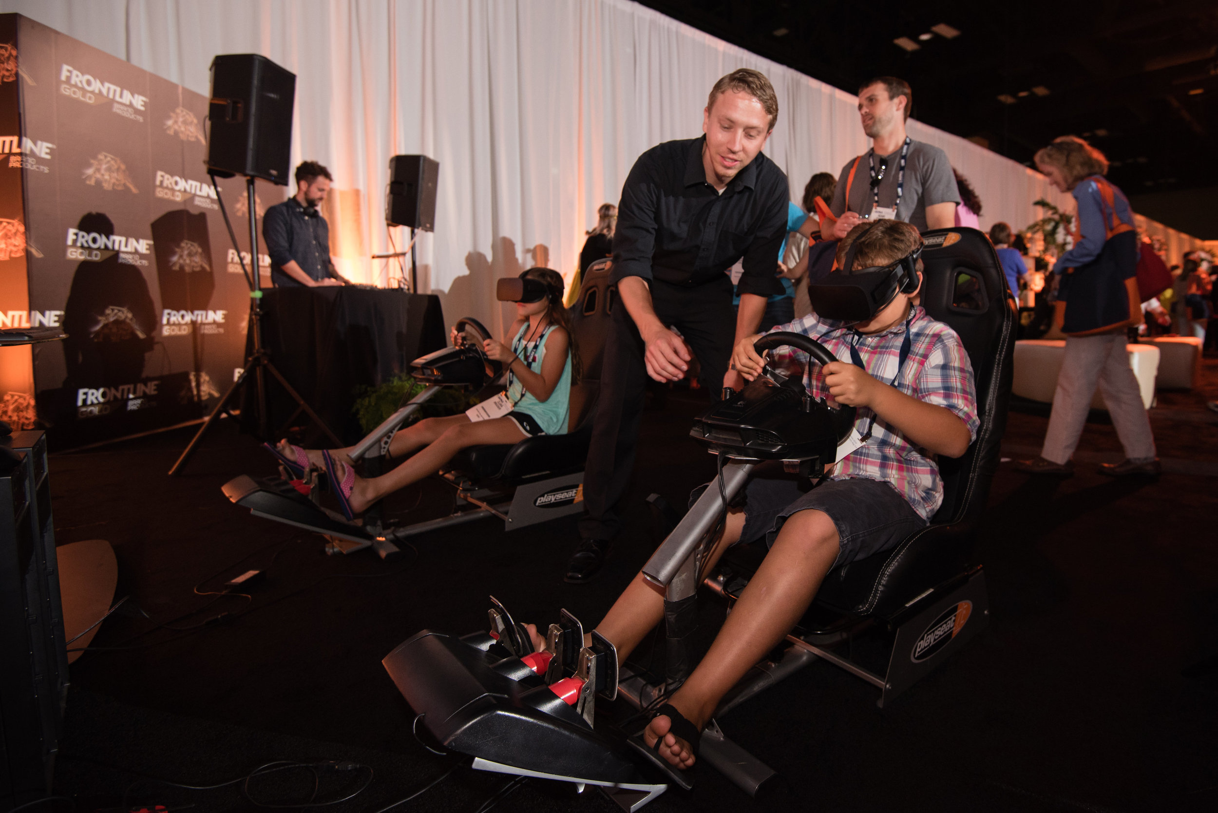 VR Racing was a huge hit
