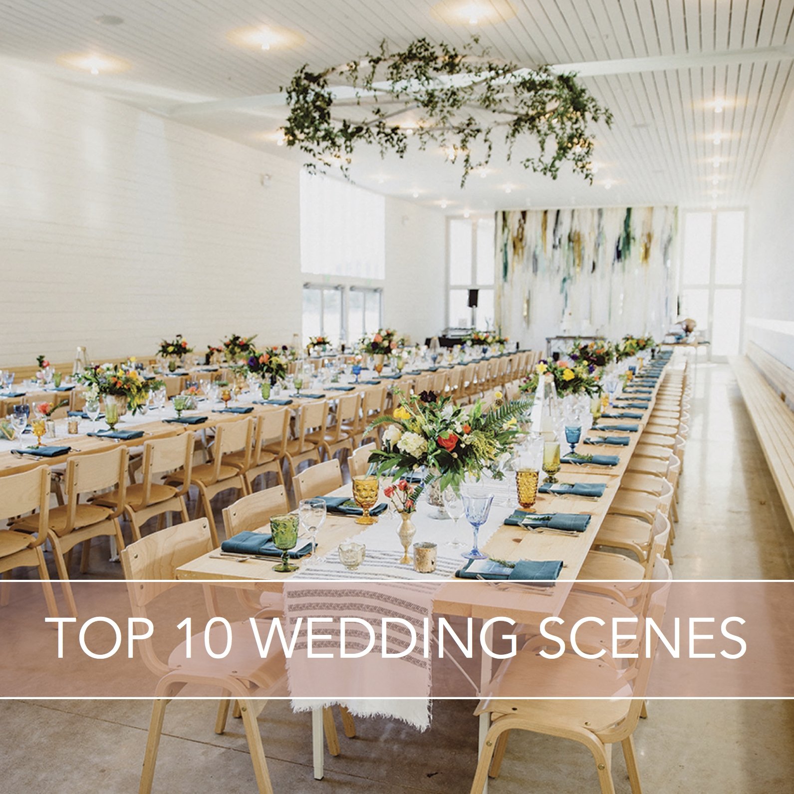 Cassie and Amber's wedding was listed as one of the top 10 wedding scenes of 2016 on Brides of Austin Magazine!