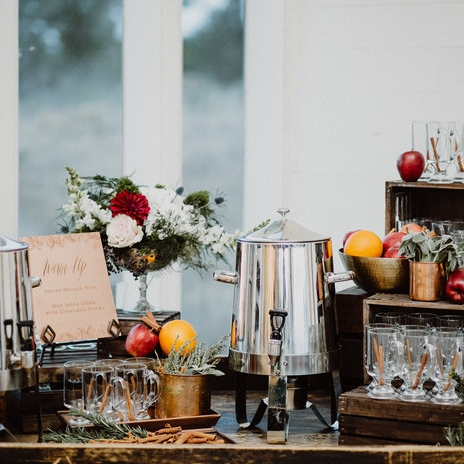 InStyle Magazine feature - Winter wedding styling tips