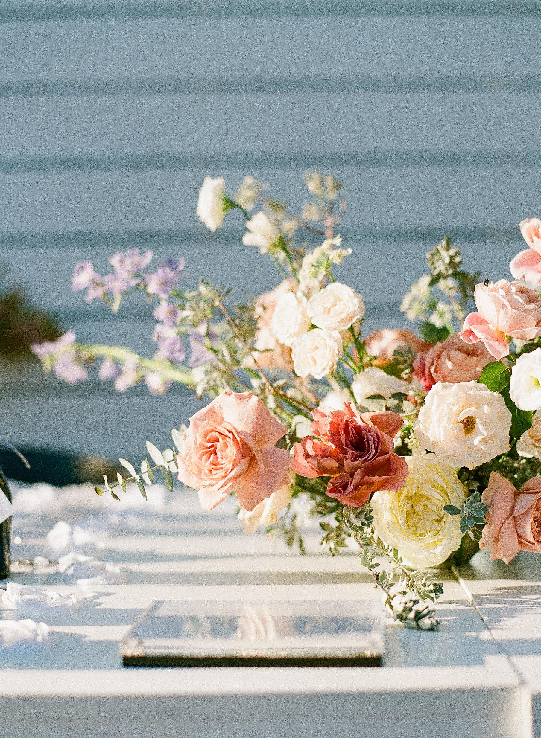 Registration Table Floral Design