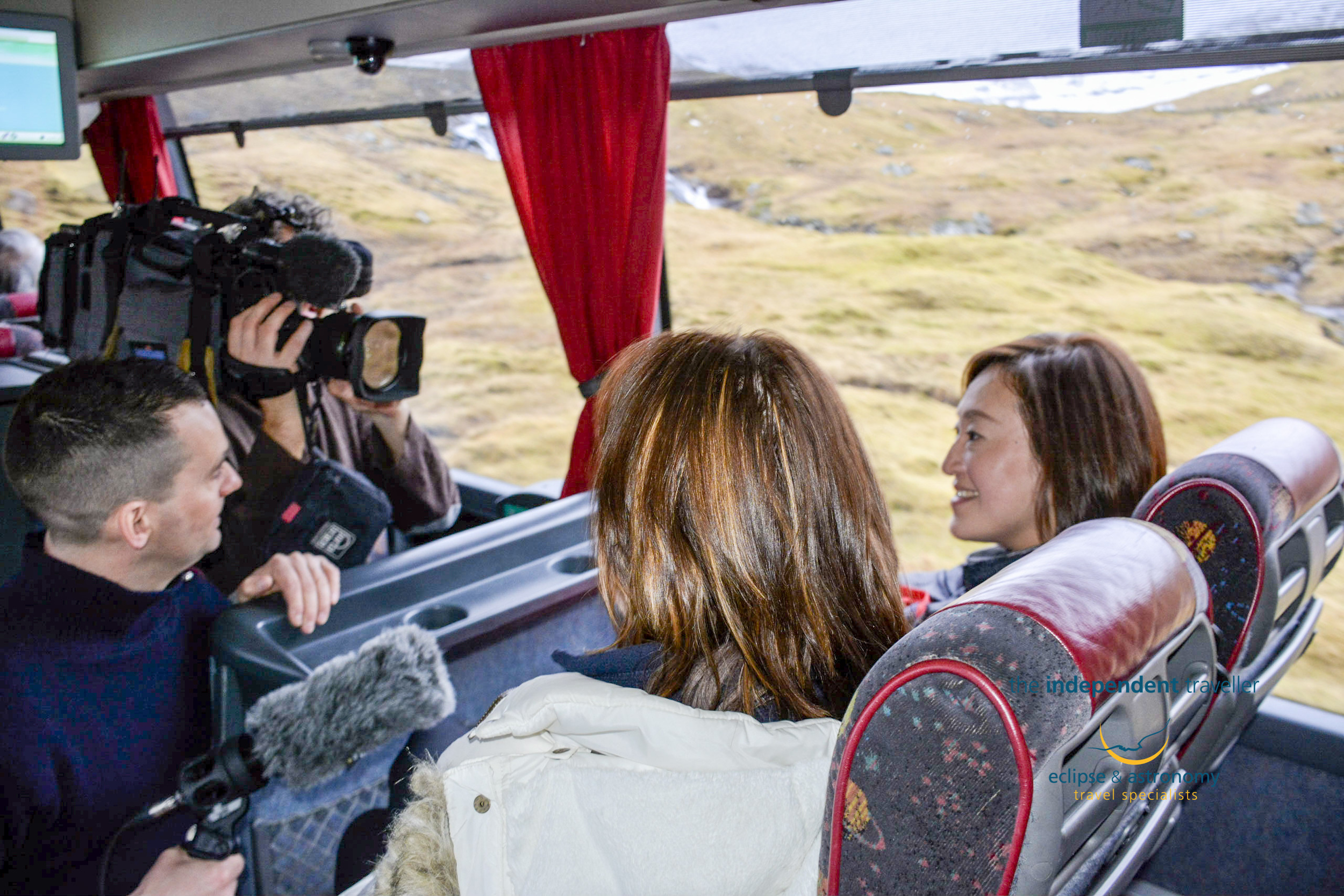 Al Jazeera Interview  The Independent Travellers Tour Partcipants  on the Faroe Islands TSE Eclipse Tour, a few days before the big day!