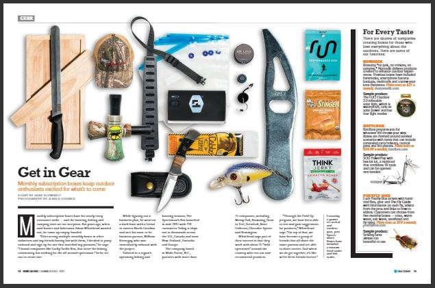 Featured in USA TODAY magazine!
