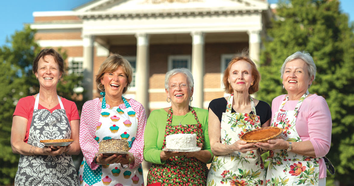 Check out our Parson's Table ladies in  Our State  Magazine!