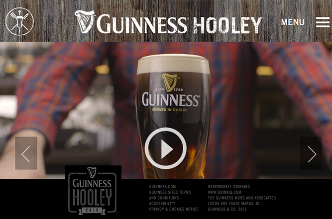Drink recipe videos for Guinness Hooley website.