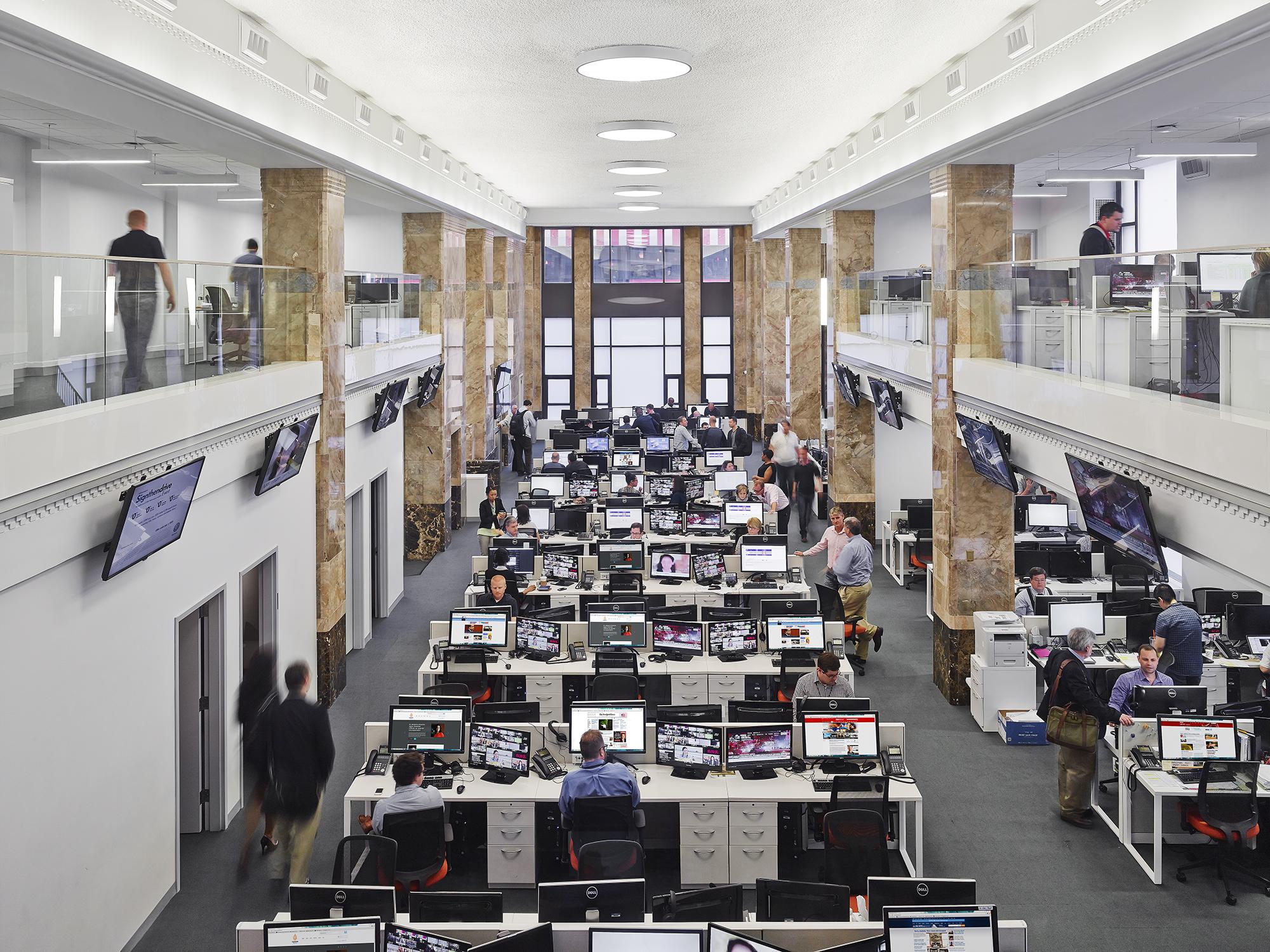 Al Jazeera Newsroom  The Lawrence Group