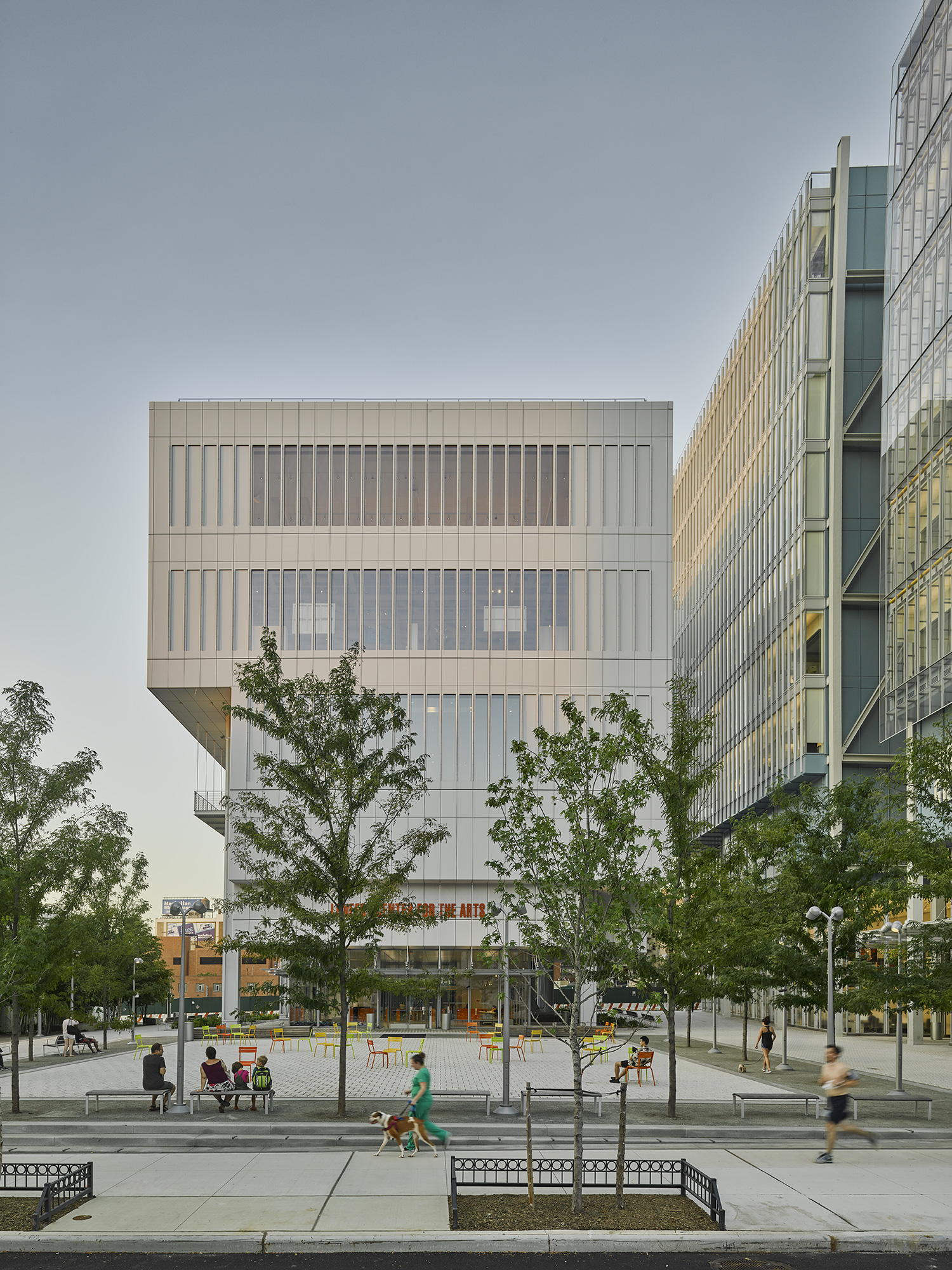 Manhattanville - Columbia University  Renzo Piano