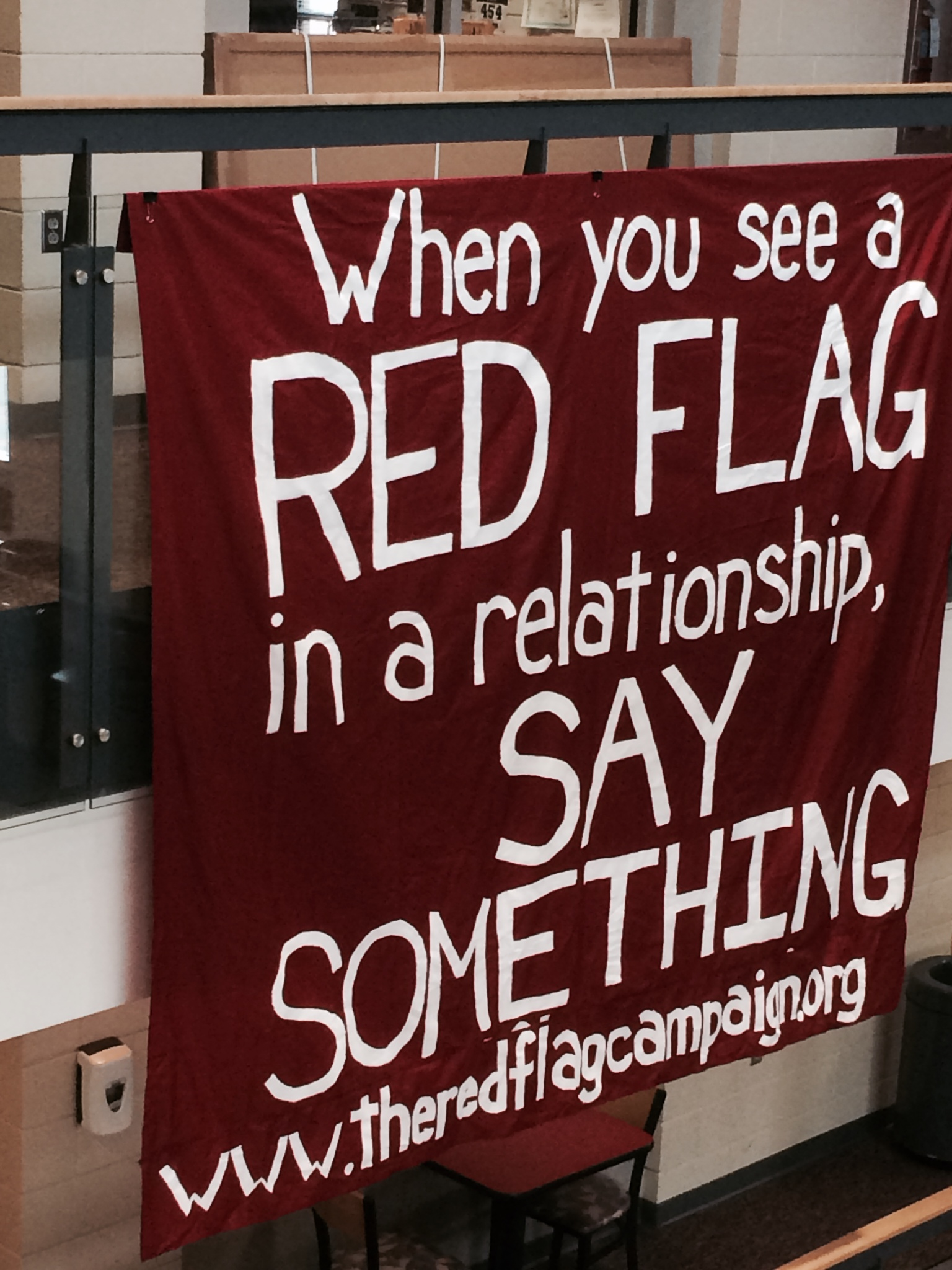 Red Flag Campaign banner