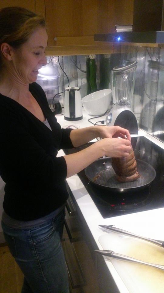 En smule skeptisk første gang jeg steiker stek. :-) Kan dette være riktig?