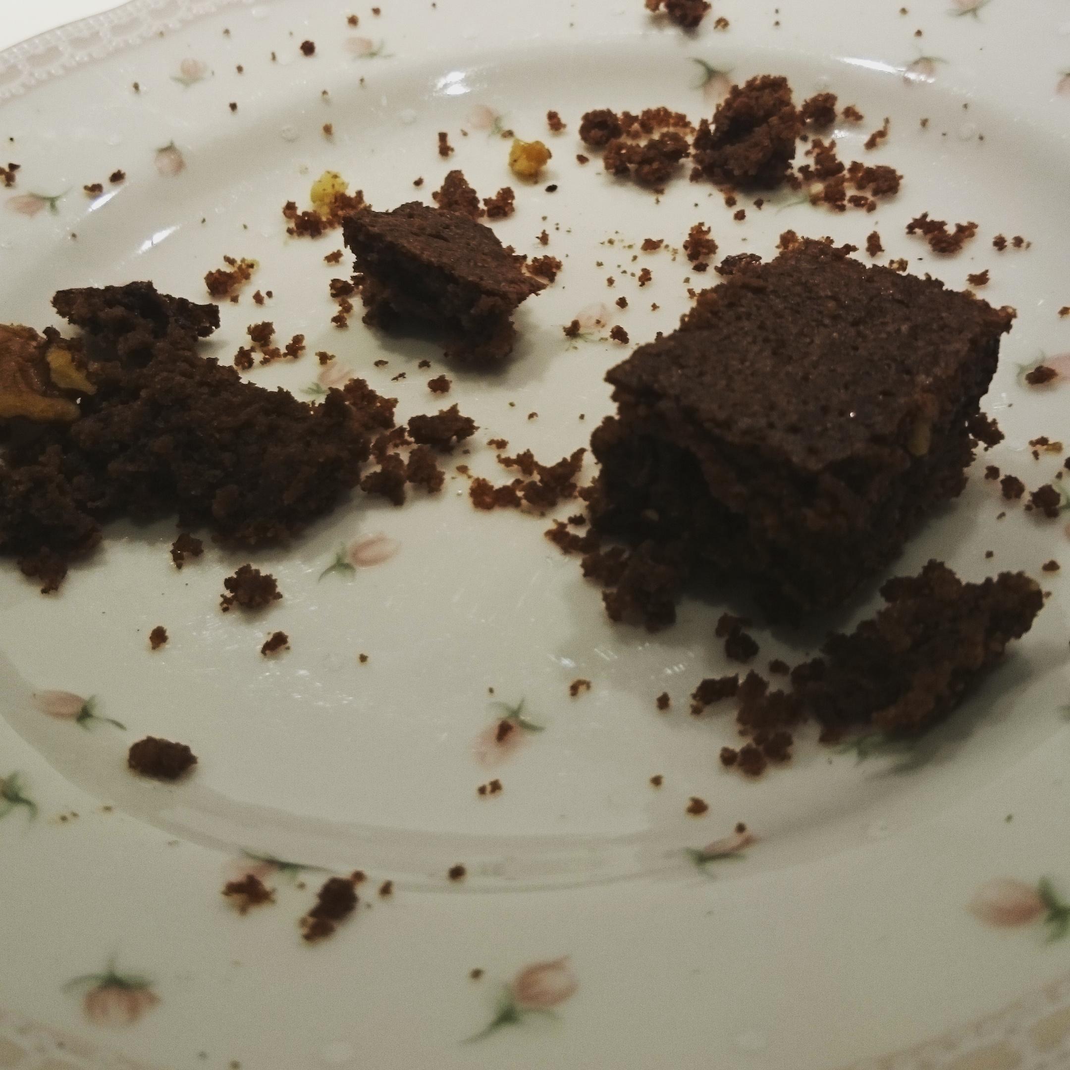 Kake som vi fikk servert på Open Port festival hos Inger Anita. Baket av Helene. Den smakte helt nydelig og det ble både ett og to, tre stykker. :-) Nam!