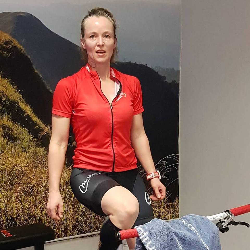 Gry har selv masse erfaring fra sykkel, både på tur og på konkuranse.