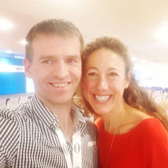 Fantastisk inspirerende keynote og møte med #ironmanlegend Chrissie Wellington 🤗😍👌🏻🙌🚴♀️🚴♀️🚴♀️