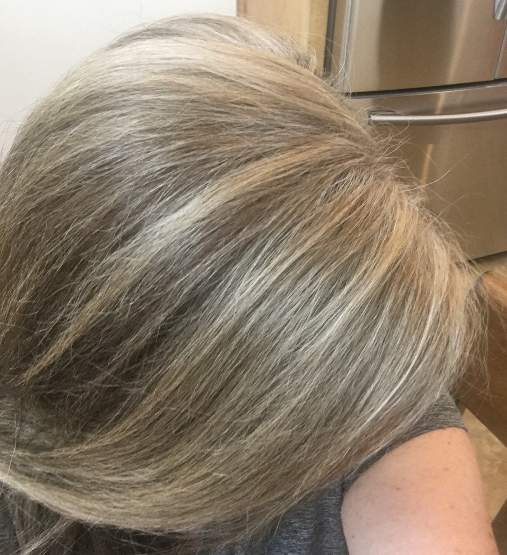 How I Transformed My Dark Brunette Hair To My Natural Gray Feathered Empty Nest The Guide To Enjoying Your Empty Nest