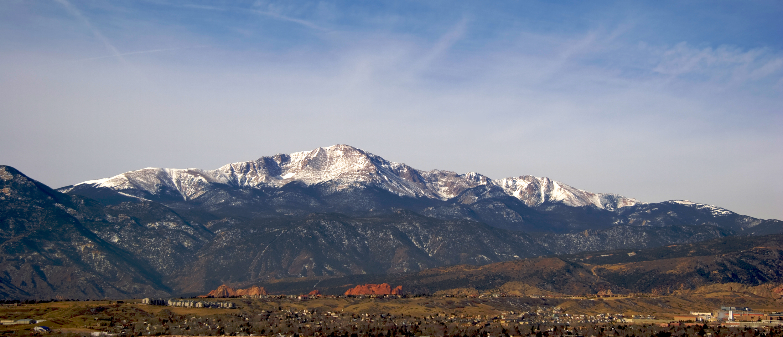 Pikes Peak, CO - View from Main Office