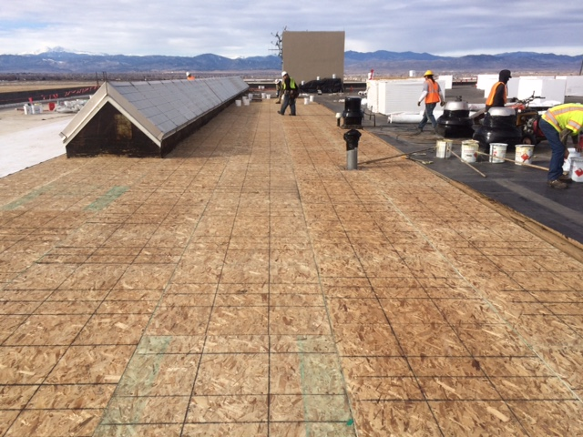 Roof Underlayment Installation