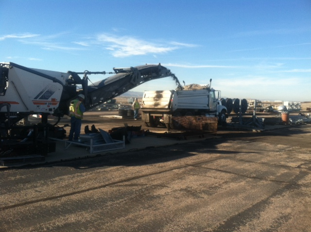 Milling and Asphalt Replacement