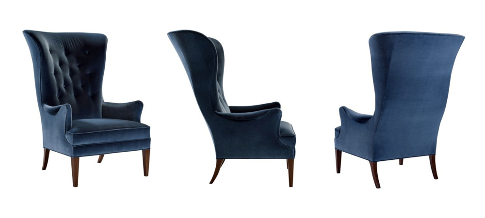 Hickory Chair Wing Chair