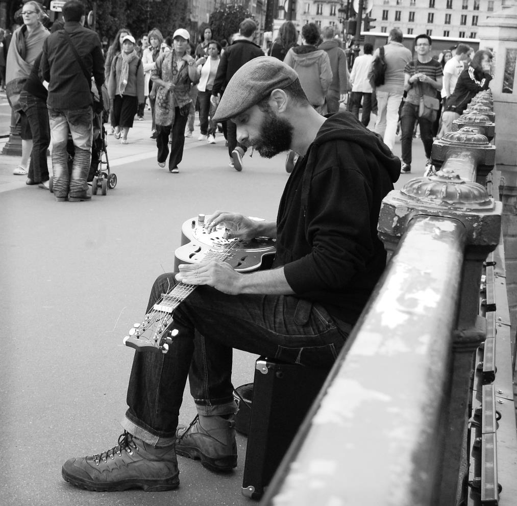 El guitarrista de Paris
