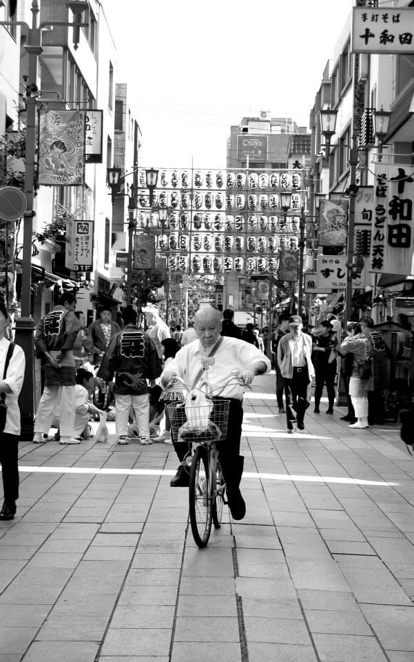 Old man biker - Tokio