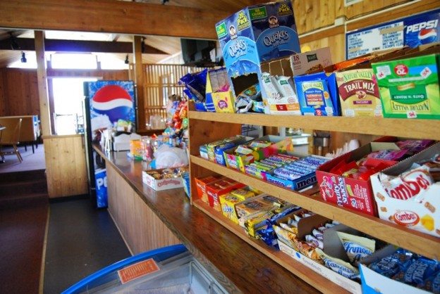 Snack Shop Counter