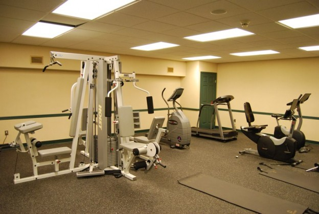 Fitness Room in Riverside Manor