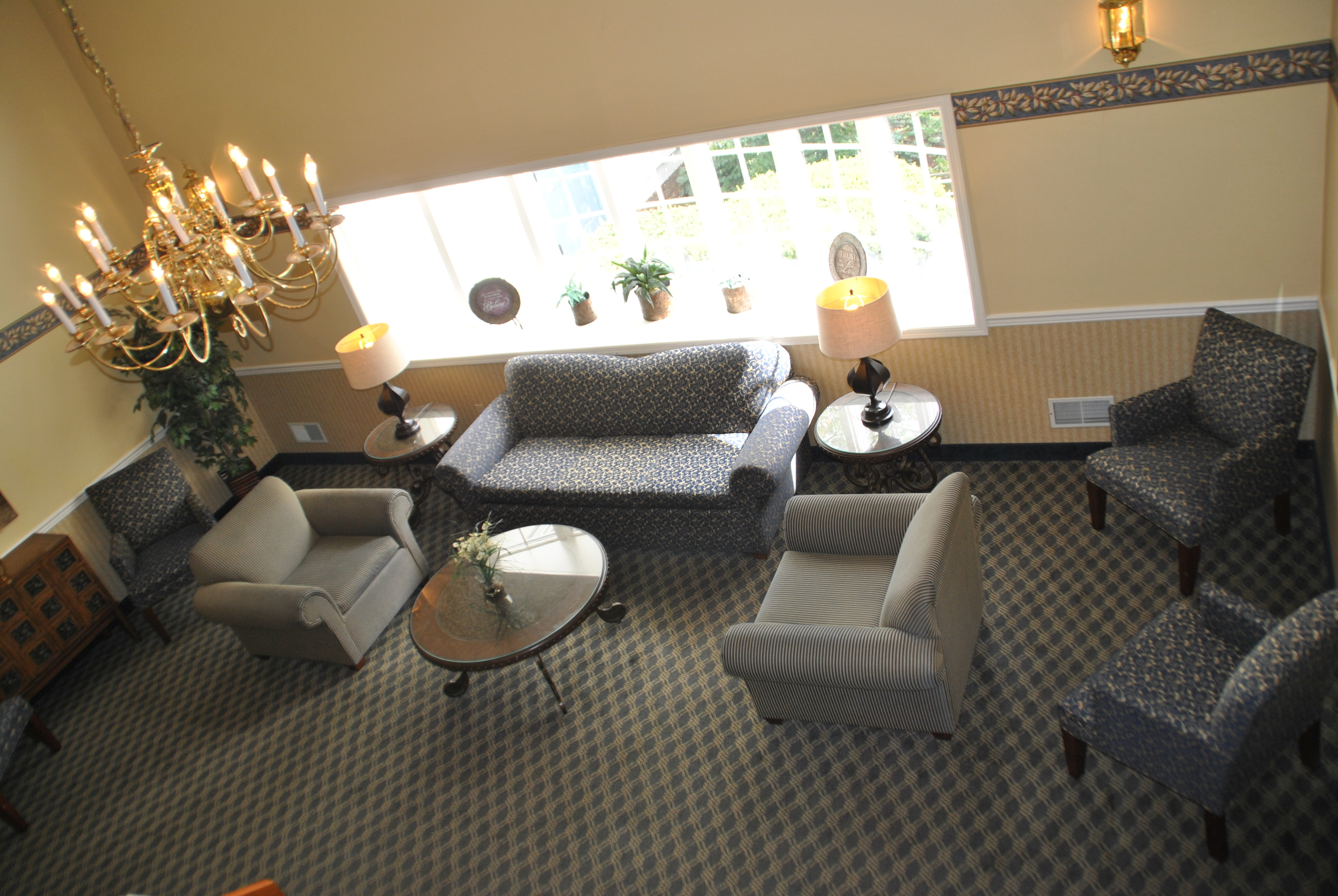 Main Lounge in Riverside Manor