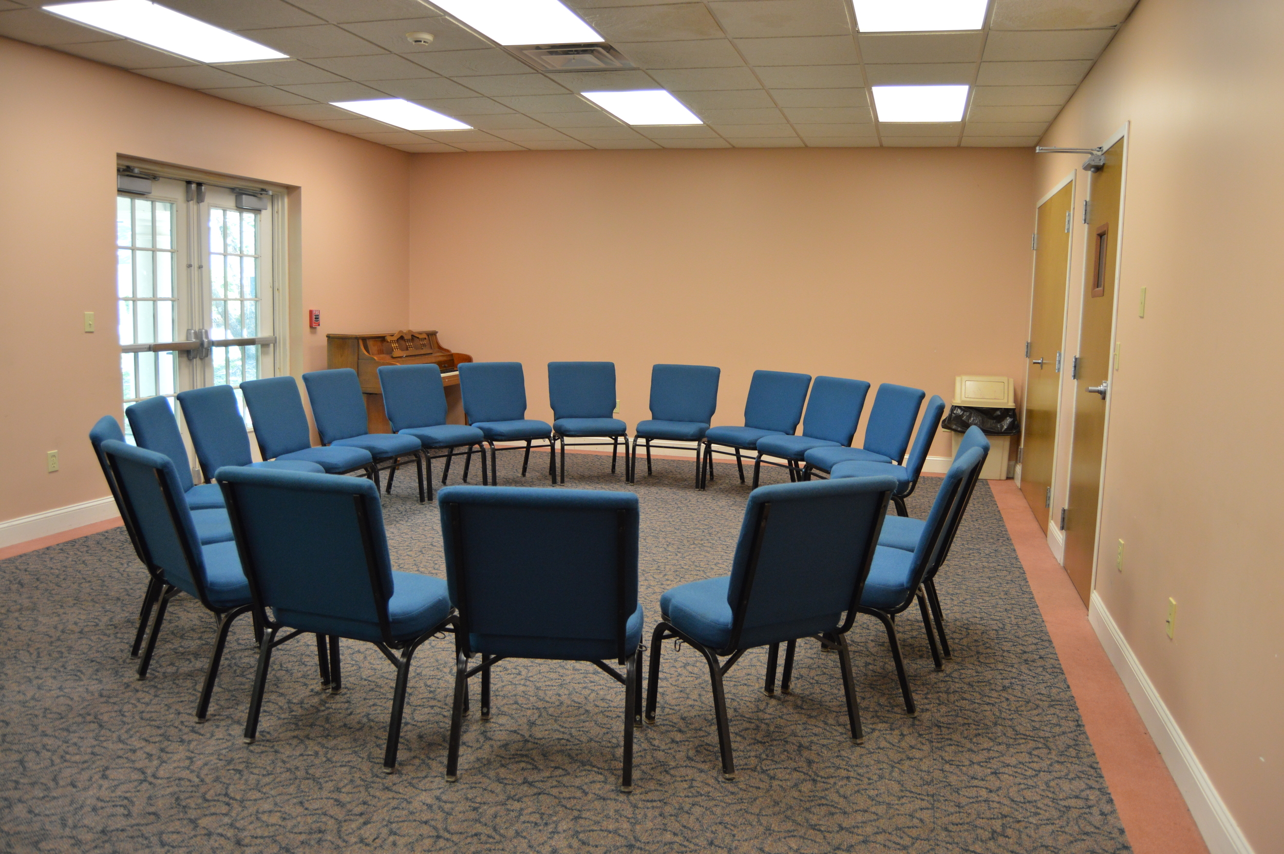 STC Classroom, Prepared for Small Group Discussions