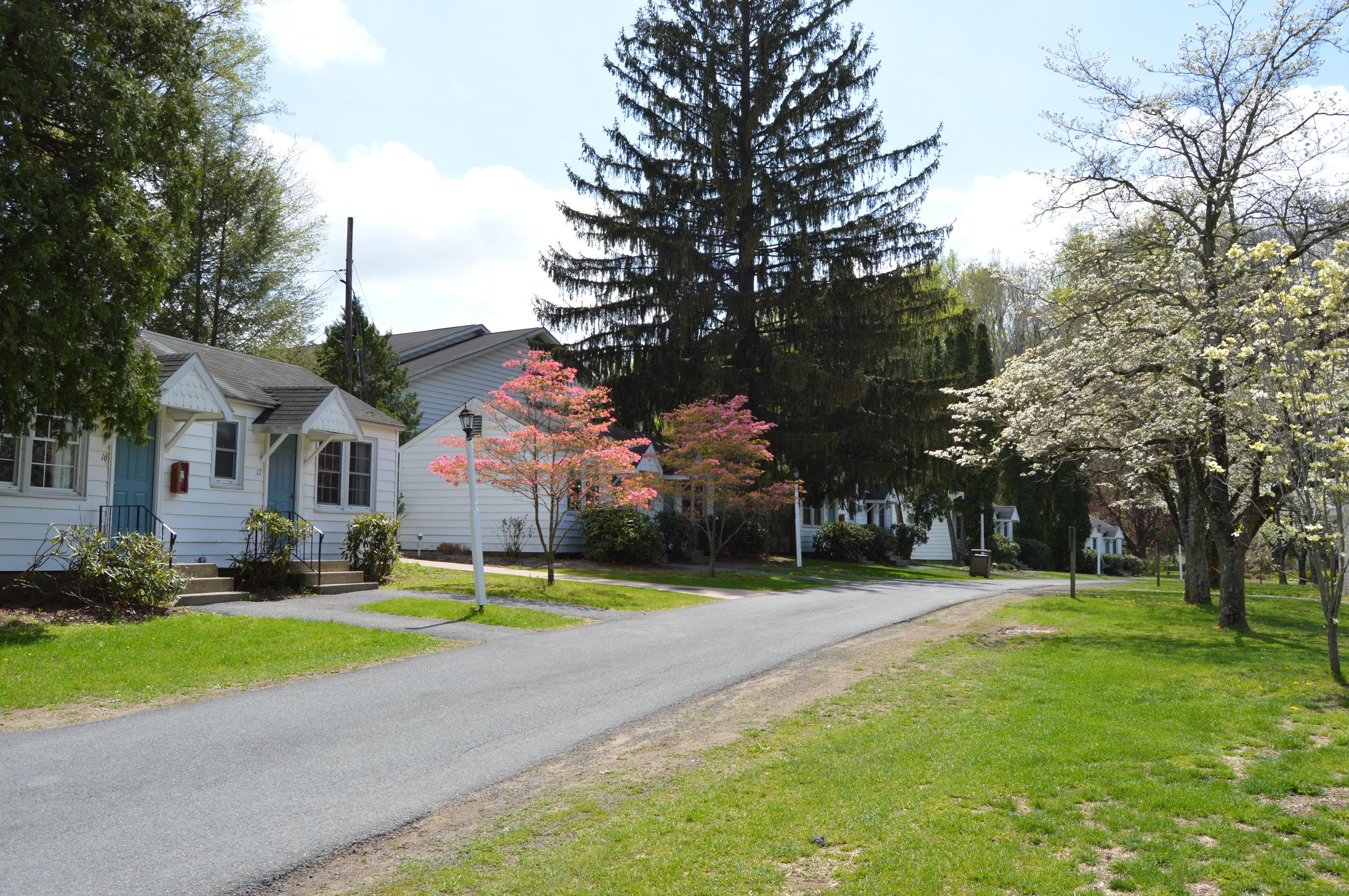Outside Entrances on Cottages