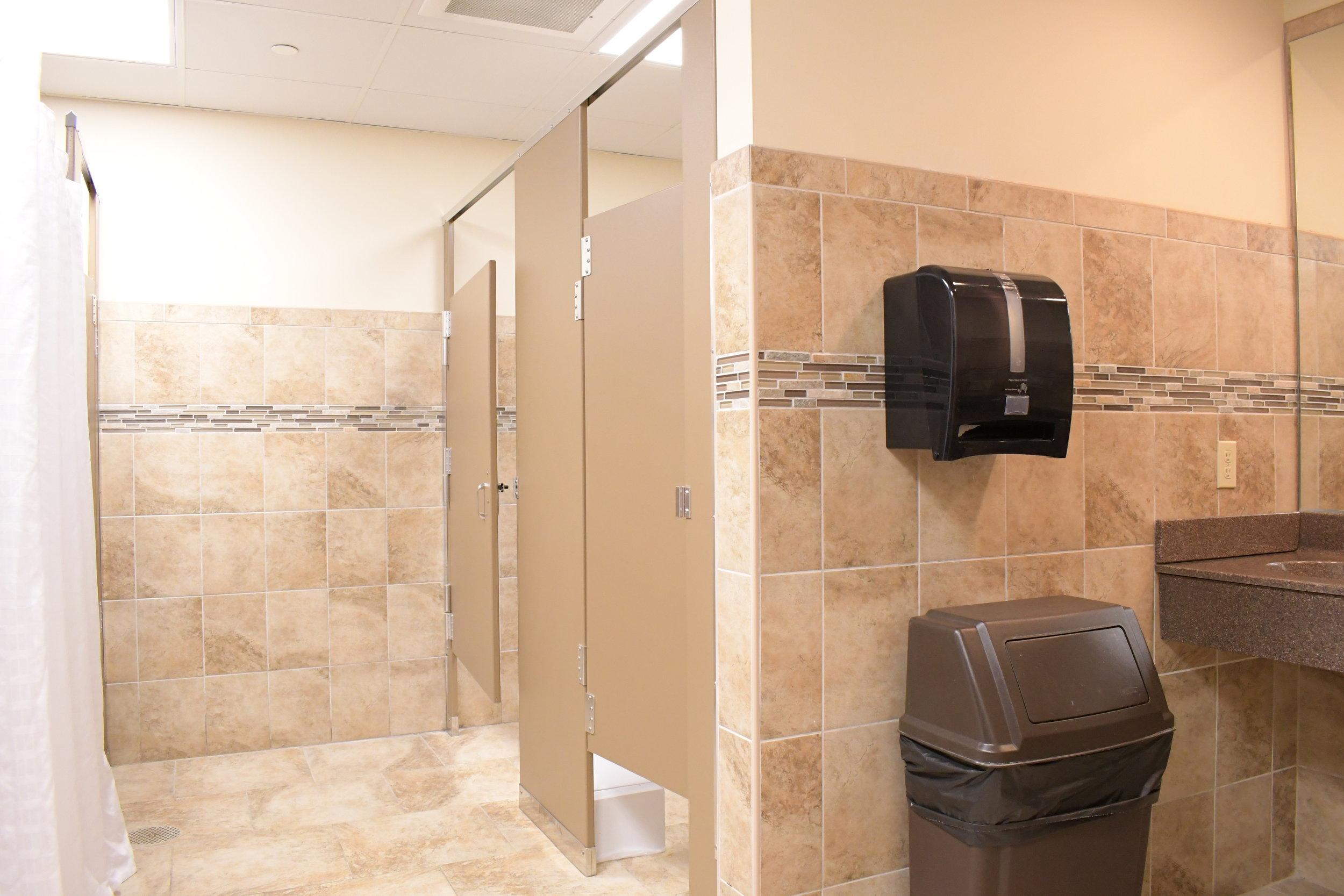 Shared Bathrooms in Overlook