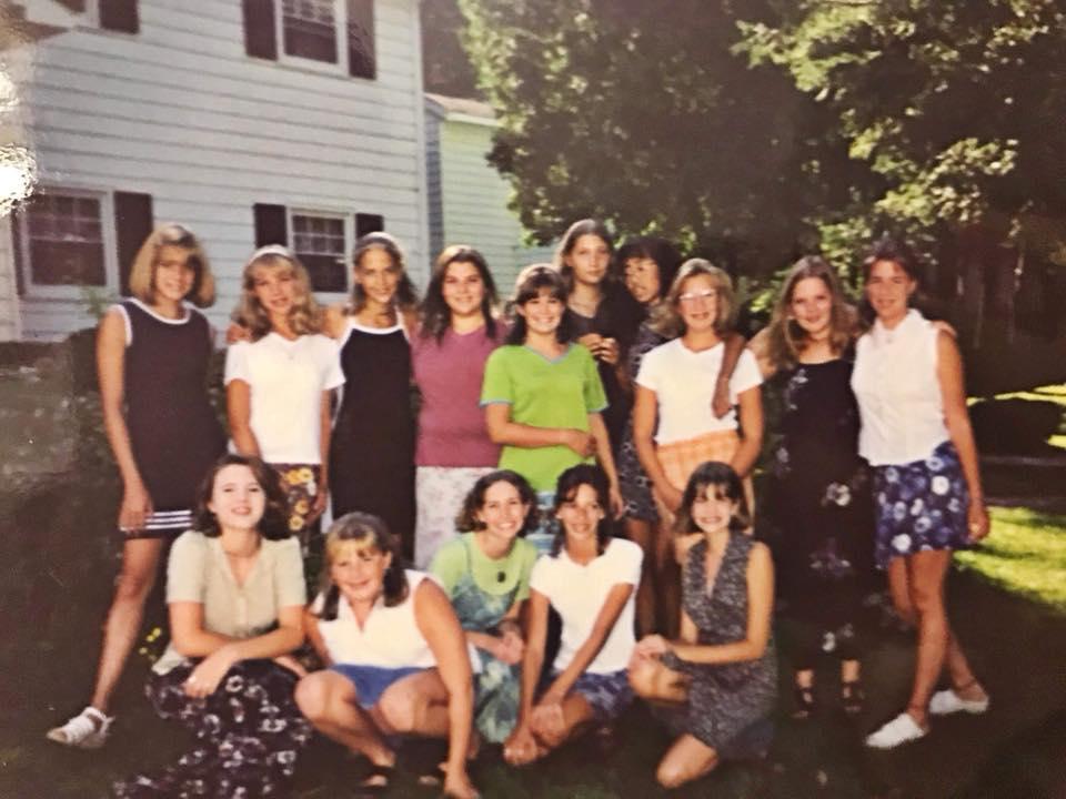 Sara: lower right hand corner